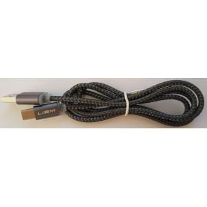 Type C USB кабель для Ulefone Armor 3WT с длинным штекером