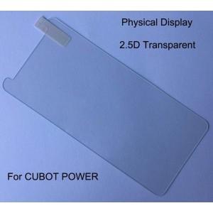 Закаленное защитное стекло на Cubot Power, 9H, 2.5D, 0.26 mm
