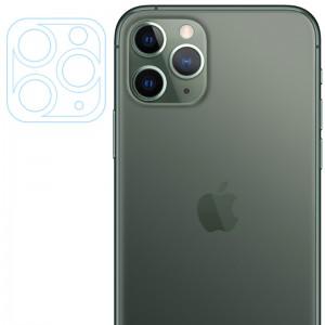 Гибкое защитное стекло 0.18mm на камеру и весь блок для iPhone 11 Pro / 11 Pro Max (тех.пак) (Прозрачный)