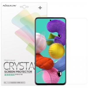 Защитная пленка для Samsung Galaxy A51 / M31s - Nillkin Crystal (Анти-отпечатки)
