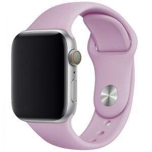 Силіконовий ремінець для Apple watch 42mm / 44mm (Ліловий / Lilac Pride)
