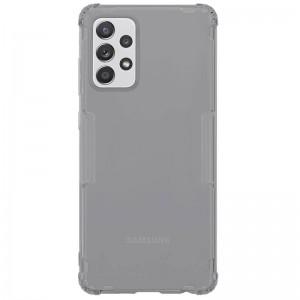 TPU Чохол для Samsung Galaxy A72 4G / A72 5G Nillkin Nature Series (Сірий (прозорий))