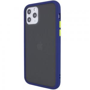 """TPU+PC чехол для iPhone 11 Pro (5.8"""") LikGus Maxshield (Синий)"""