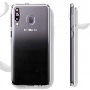 TPU чехол для Samsung Galaxy M30 - Epic Transparent 1,0mm (Бесцветный (прозрачный))