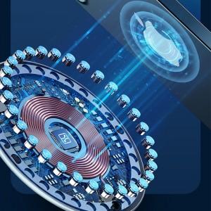 Бездротовий зарядний пристрій Usams US-CD160 W2,15W, Type-C (магнітний) (Срібний)