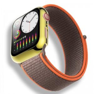 Чехол с защитным стеклом для Apple Watch 44mm BP ATC (Gold)