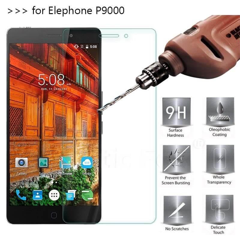 Защитное стекло на Elephone P9000