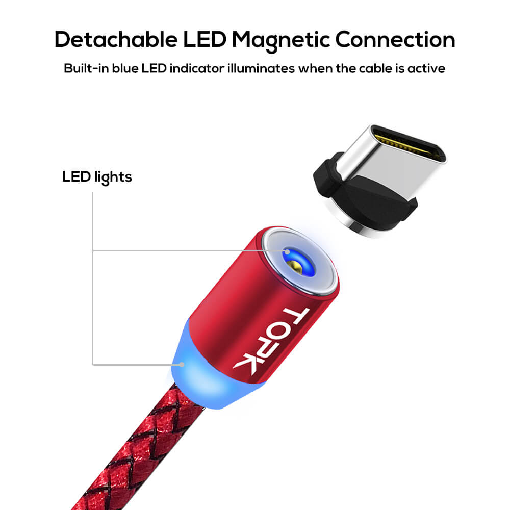 Магнітний кабель для зарядки