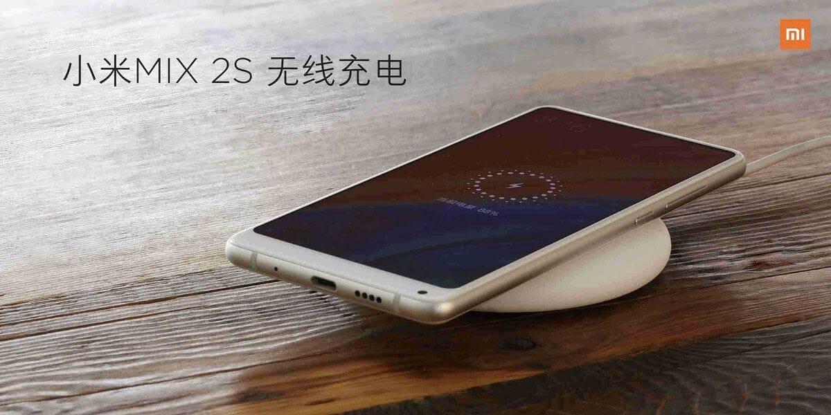 Беспроводная зарядка у смартфоне Xiaomi Mi Mix 2S