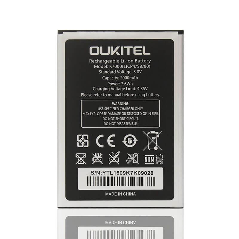 АКБ на смартфон Oukitel K7000