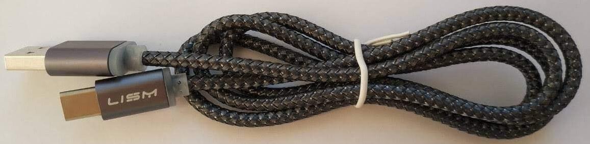 Type C кабель з довгим роз'ємом