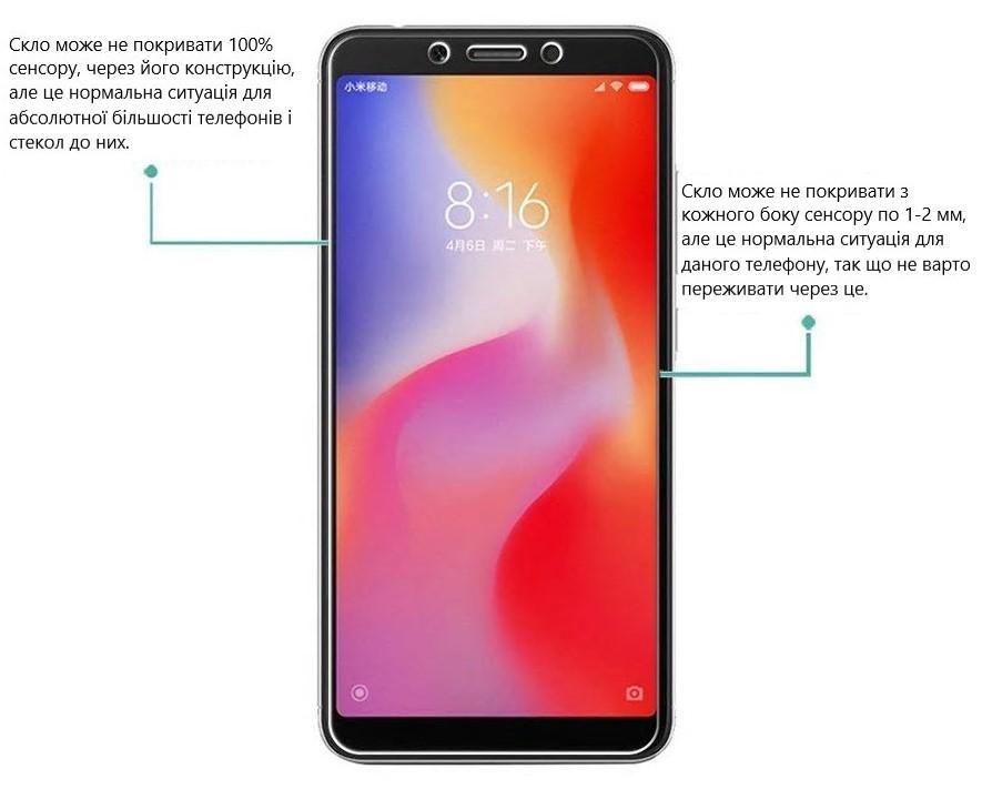 Закаленное стекло Xiaomi Redmi 6A