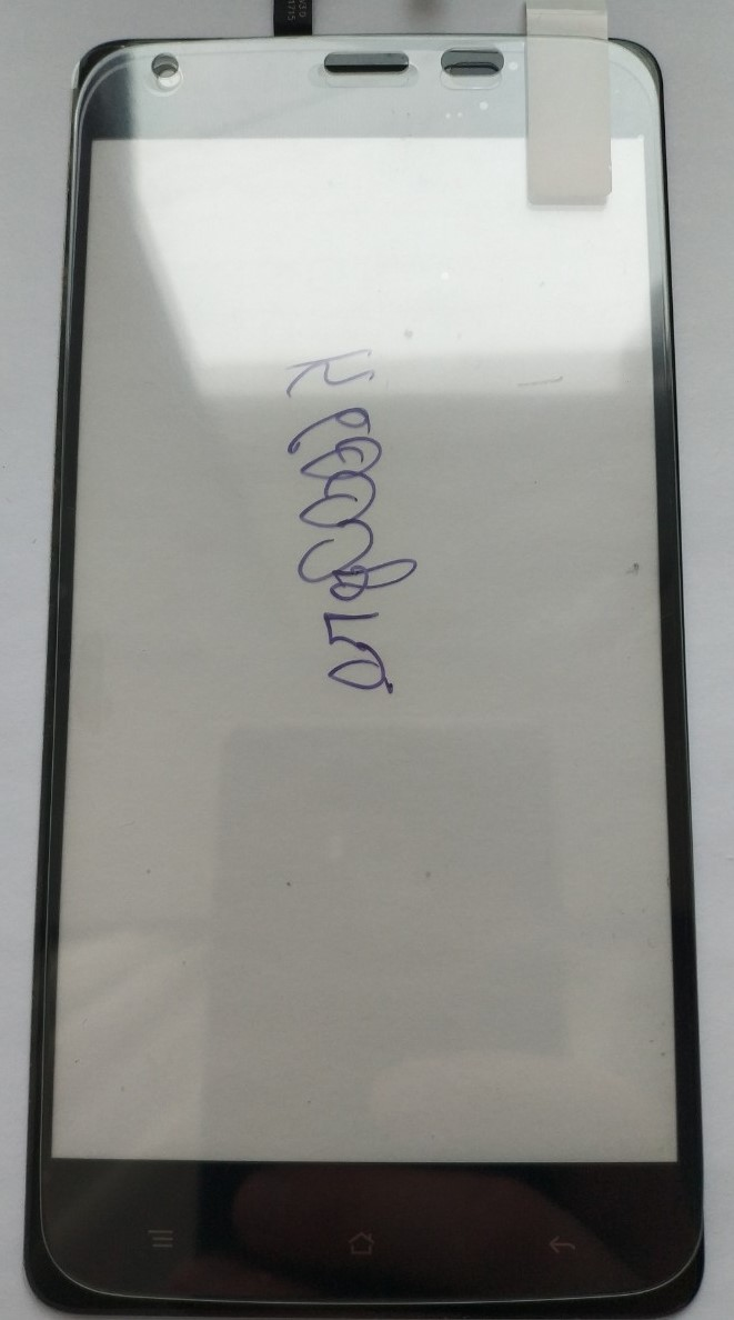 Закаленное защитное стекло на Oukitel K6000, K6000 Pro