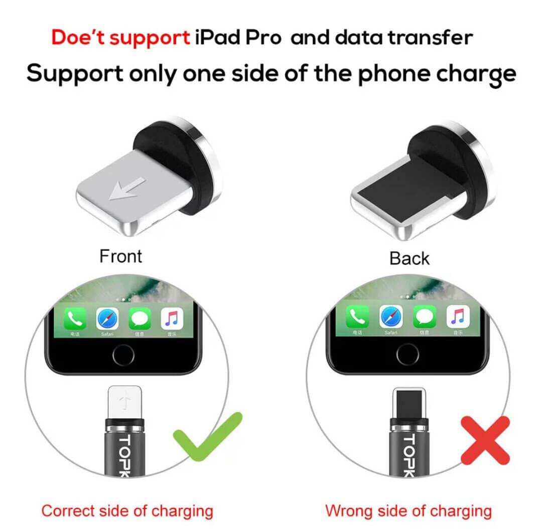 Магнитный кабель на Iphone