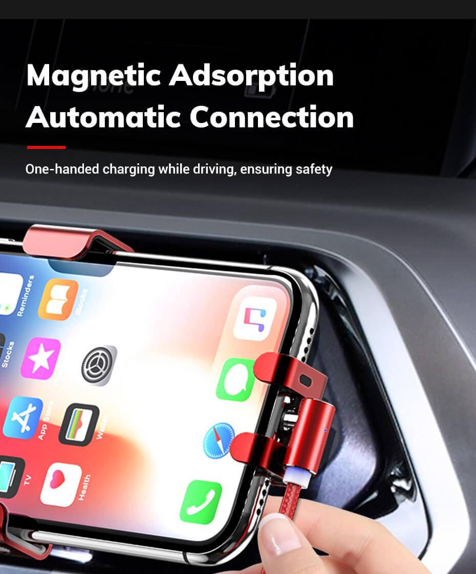 Магнитный кабель для телефона micro usb